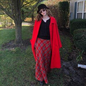 Beautiful vintage Pendleton Red Wool Cape